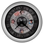My Heart Beats For You Clock - Wall Clock (Silver)