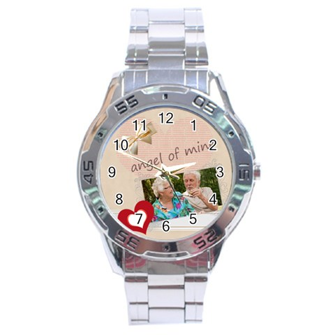 Love By Joely   Stainless Steel Analogue Watch   Bb9shbddlcg3   Www Artscow Com Front