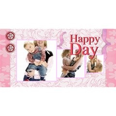 Mom By Joely   #1 Mom 3d Greeting Cards (8x4)   Srnfz8t4au3m   Www Artscow Com Front