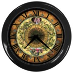 Vintage Wall Clock - Wall Clock (Black)