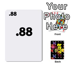 Decimal War By Tracy Jarman   Playing Cards 54 Designs   Ndcxldrnixit   Www Artscow Com Front - Heart10