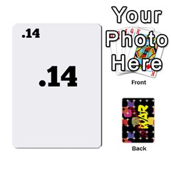 Decimal War By Tracy Jarman   Playing Cards 54 Designs   Ndcxldrnixit   Www Artscow Com Front - Spade8