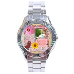 mothers day - Stainless Steel Analogue Watch
