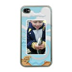 No Fishing Apple iPhone 4 case clear - Apple iPhone 4 Case (Clear)