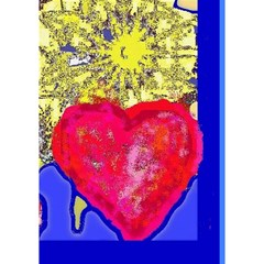 Sunshine Card 2 (without Any Text) By Riksu   Heart Bottom 3d Greeting Card (7x5)   1ctdmywc8yfq   Www Artscow Com Inside