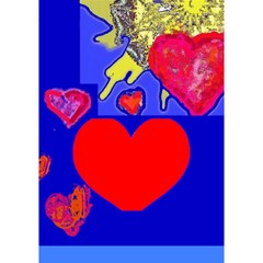 Sunshine Card 1  (with The Text In The Back) By Riksu   Heart Bottom 3d Greeting Card (7x5)   Whtohpx8azig   Www Artscow Com Inside