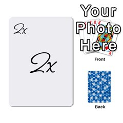Algebra Rummy By Tracy Jarman   Playing Cards 54 Designs   1msaxqb18ruk   Www Artscow Com Front - Heart3