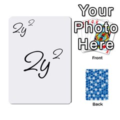 Algebra Rummy By Tracy Jarman   Playing Cards 54 Designs   1msaxqb18ruk   Www Artscow Com Front - Club3