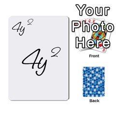 Algebra Rummy By Tracy Jarman   Playing Cards 54 Designs   1msaxqb18ruk   Www Artscow Com Front - Club5