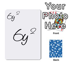Algebra Rummy By Tracy Jarman   Playing Cards 54 Designs   1msaxqb18ruk   Www Artscow Com Front - Club7