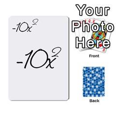 Jack Algebra Rummy By Tracy Jarman   Playing Cards 54 Designs   1msaxqb18ruk   Www Artscow Com Front - SpadeJ