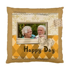 Happy Day By Joely   Standard Cushion Case (two Sides)   803ny8h6wosl   Www Artscow Com Back