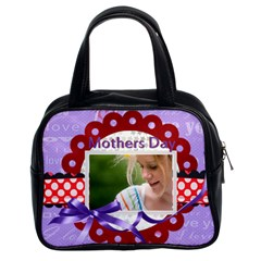 Mothers Day By Joely   Classic Handbag (two Sides)   Nrb16dgvll7r   Www Artscow Com Front