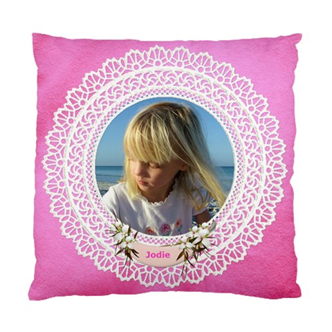 Lace By Deborah   Standard Cushion Case (one Side)   Tzhdumiwdrfx   Www Artscow Com Front