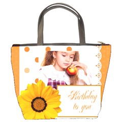 Brithday To You By Joely   Bucket Bag   Nw1u6vav2b0p   Www Artscow Com Back