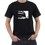 the rush hour (in Rome)  - t-shirt - Black T-Shirt