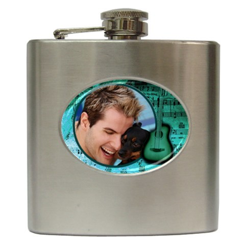 Musos Hip Flask 6oz By Deborah   Hip Flask (6 Oz)   Dzzrzgjml98z   Www Artscow Com Front