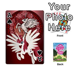Ace Mlp Playing Cards By Raymond Zhuang   Playing Cards 54 Designs   Vfvcn4uqo34e   Www Artscow Com Front - SpadeA