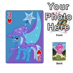Mlp Playing Cards By Raymond Zhuang   Playing Cards 54 Designs   Vfvcn4uqo34e   Www Artscow Com Front - Heart3