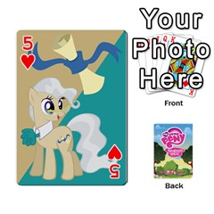 Mlp Playing Cards By Raymond Zhuang   Playing Cards 54 Designs   Vfvcn4uqo34e   Www Artscow Com Front - Heart5