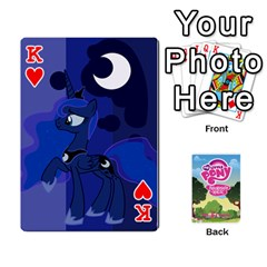 King Mlp Playing Cards By Raymond Zhuang   Playing Cards 54 Designs   Vfvcn4uqo34e   Www Artscow Com Front - HeartK