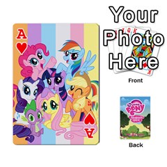 Ace Mlp Playing Cards By Raymond Zhuang   Playing Cards 54 Designs   Vfvcn4uqo34e   Www Artscow Com Front - HeartA