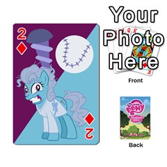 Mlp Playing Cards By Raymond Zhuang   Playing Cards 54 Designs   Vfvcn4uqo34e   Www Artscow Com Front - Diamond2