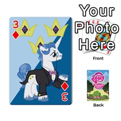 Mlp Playing Cards By Raymond Zhuang   Playing Cards 54 Designs   Vfvcn4uqo34e   Www Artscow Com Front - Diamond3