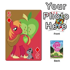 Mlp Playing Cards By Raymond Zhuang   Playing Cards 54 Designs   Vfvcn4uqo34e   Www Artscow Com Front - Diamond5