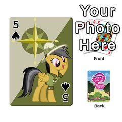 Mlp Playing Cards By Raymond Zhuang   Playing Cards 54 Designs   Vfvcn4uqo34e   Www Artscow Com Front - Spade5