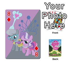 Mlp Playing Cards By Raymond Zhuang   Playing Cards 54 Designs   Vfvcn4uqo34e   Www Artscow Com Front - Diamond8