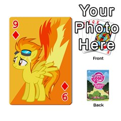 Mlp Playing Cards By Raymond Zhuang   Playing Cards 54 Designs   Vfvcn4uqo34e   Www Artscow Com Front - Diamond9