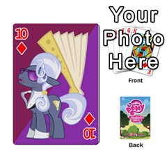 Mlp Playing Cards By Raymond Zhuang   Playing Cards 54 Designs   Vfvcn4uqo34e   Www Artscow Com Front - Diamond10