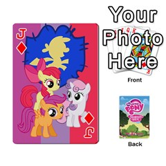 Jack Mlp Playing Cards By Raymond Zhuang   Playing Cards 54 Designs   Vfvcn4uqo34e   Www Artscow Com Front - DiamondJ