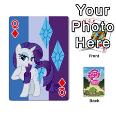 Queen Mlp Playing Cards By Raymond Zhuang   Playing Cards 54 Designs   Vfvcn4uqo34e   Www Artscow Com Front - DiamondQ