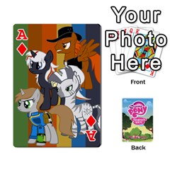 Ace Mlp Playing Cards By Raymond Zhuang   Playing Cards 54 Designs   Vfvcn4uqo34e   Www Artscow Com Front - DiamondA