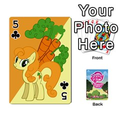 Mlp Playing Cards By Raymond Zhuang   Playing Cards 54 Designs   Vfvcn4uqo34e   Www Artscow Com Front - Club5