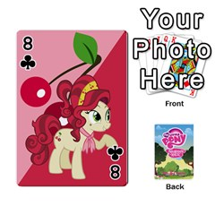 Mlp Playing Cards By Raymond Zhuang   Playing Cards 54 Designs   Vfvcn4uqo34e   Www Artscow Com Front - Club8
