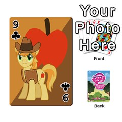 Mlp Playing Cards By Raymond Zhuang   Playing Cards 54 Designs   Vfvcn4uqo34e   Www Artscow Com Front - Club9