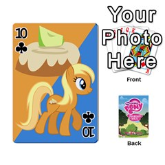 Mlp Playing Cards By Raymond Zhuang   Playing Cards 54 Designs   Vfvcn4uqo34e   Www Artscow Com Front - Club10