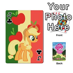 Jack Mlp Playing Cards By Raymond Zhuang   Playing Cards 54 Designs   Vfvcn4uqo34e   Www Artscow Com Front - ClubJ