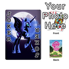 Mlp Playing Cards By Raymond Zhuang   Playing Cards 54 Designs   Vfvcn4uqo34e   Www Artscow Com Front - Joker1