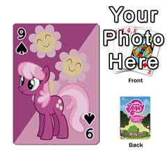 Mlp Playing Cards By Raymond Zhuang   Playing Cards 54 Designs   Vfvcn4uqo34e   Www Artscow Com Front - Spade9