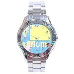 mother s day - Stainless Steel Analogue Watch