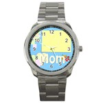 mother s day - Sport Metal Watch
