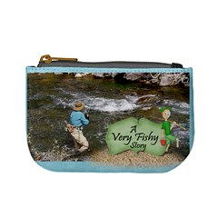Gone Fishing Mini Coin Purse 2 By Snackpackgu   Mini Coin Purse   Kkx8qr0eb0et   Www Artscow Com Front