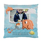 Gone Fishing Cushion Case 1 -side - Standard Cushion Case (One Side)