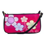 flower power handbag - Shoulder Clutch Bag