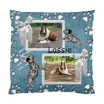 Lassie Cushion Case (One Side) 1 - Standard Cushion Case (One Side)