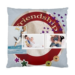 Friendship By Joely   Standard Cushion Case (two Sides)   Qts40ivvueot   Www Artscow Com Front